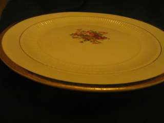 Vintage Royal China Warranted 22 Karat Gold Plate