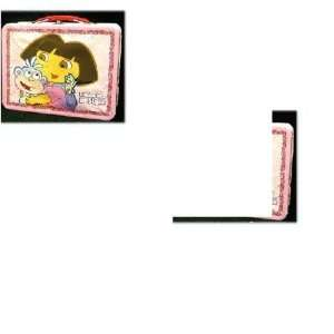 Dora the Explorer Tin Lunch Box Carry all Toys & Games