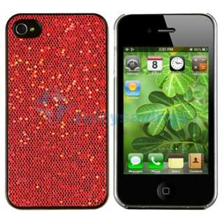 Accessory Bundle Bling Diamond Case Skin Hard Back Cover Pack for