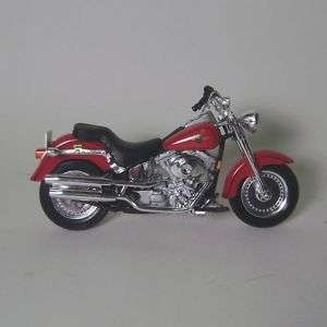 Harley Davison FLSTF Fat Boy Die Cast Motorcycle   1/18
