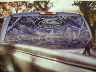 Mathews Truck rear window mesh