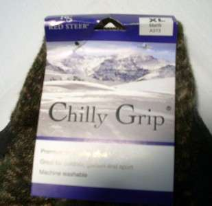 Mens Hunt Fishing Camo Camouflage Chilly Grip Gloves X Large |