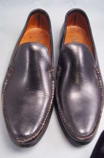 For-Thom-Mcan-Black-Leather-Loafers-85-Mens-Dress-Shoes-eBay