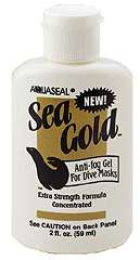 This great AquaSeal Sea Gold Mask Anti Fog Gel Scuba Dive Diving