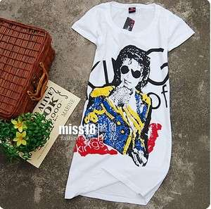 Michael Jackson king of pop Billie Jean Grammy Ladies Junior T Shirt