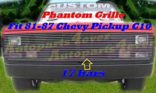 81 87 86 85 84 1987 Chevy C10 Silverado Blazer GMC Pickup Phantom
