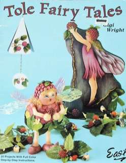 TOLE FAIRY TALES Gigi Wright Painting Pattern Book
