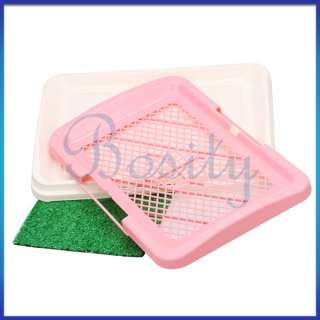 Pet Cat Dog Potty Grass Turf Training Toilet Plastic Tray Tool