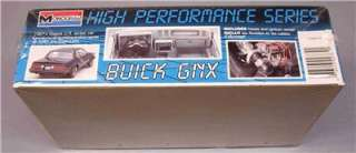 Monogram 1987 Buick GNX Factory Sealed Mint Model Kit