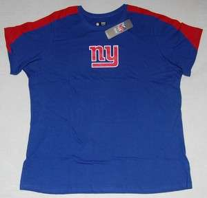 New York Giants Logo Womens Plus Size T Shirt 2X
