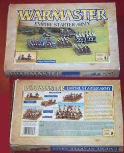 Warmaster 1603 Empire Starter Army General Knights NIB