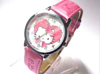 Fashion HelloKitty Girls Quartz Sport ODM Wrist watch Pink A501