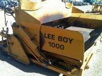 Lee Boy 1000 Asphalt Laydown Crawler Paver