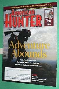 AMERICAN HUNTER MAGAZINE FEBRUARY 2011 NRA BLASER R8