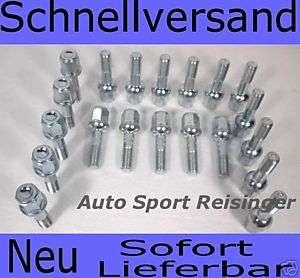 20 Radschrauben für Mercedes Benz DB Alufelgen