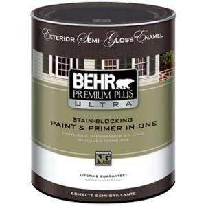 Semi Gloss Acrylic Latex White Exterior Paint 585304