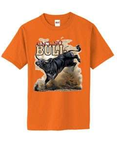 Funny Aint No Bull Riding Rider Rodeo T Shirt S  6x