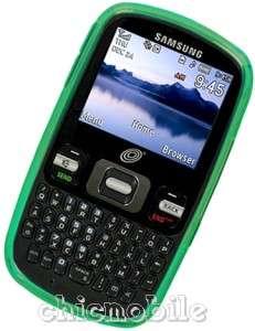 STRAIGHT TALK TPU Gel Case Cover Samsung R355C LIME GRN