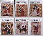 Collectibles Santa Claus Designs Counted Cross Stitch Pattern