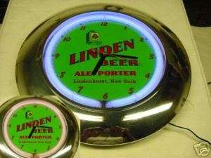 Linden Beer 12 Neon Clock (color changing) New York