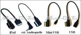 Audi AMI Audi Music Interface Ipod  A4 A5 A6 A8 Q7