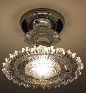 30s Art Deco Vintage Ceiling light fixture Chandelier American