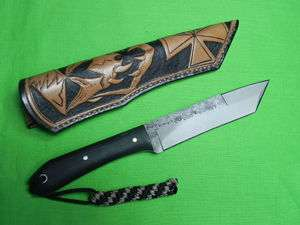 Custom Made LON HUMPHREY Tactical Tanto Fighting Knife & R. JOHNS