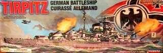 TIRPITZ German Battleship Plastic Model Kit 1/350 NEW