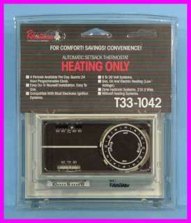 RobertShaw Programmable T33 1042 Heating THERMOSTAT NEW