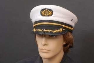 QUALITY MENS SEA CAPTAIN/YACHTSMAN/SAILOR/BOATING HAT