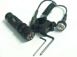 High quality 532nm Tactical Red Dot Laser Sight with Mount
