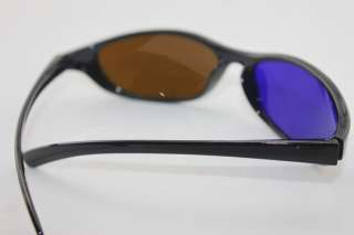 New Brown and Blue 3D Dimensional glasses for Anaglyph Films movie on