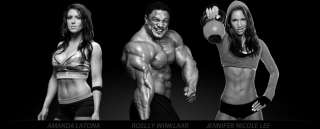 Latona, Roelly Winklaar & Jennifer Nicole Lee   Team BSN Athletes