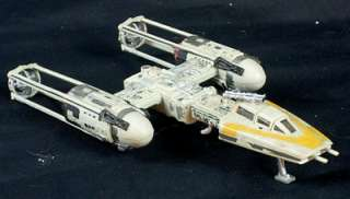Star Wars Y Wing Fighter Miniature Handpainted Model