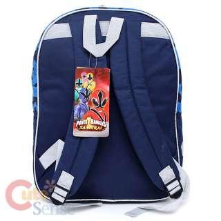 Mighty Morphin Power Rangers School Backpack Large Bag Samurai 4
