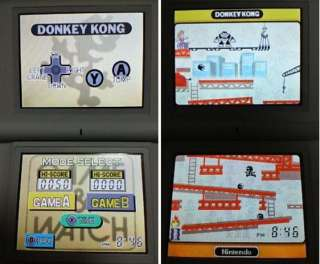 Club Nintendo DS GAME & WATCH COLLECTION Japan NEW