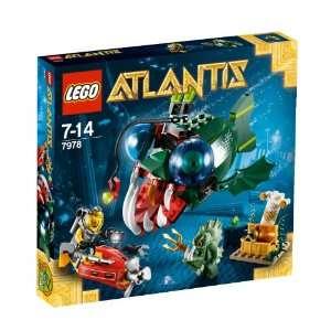 LEGO Atlantis 7978   Angriff des Seeteufels  Spielzeug