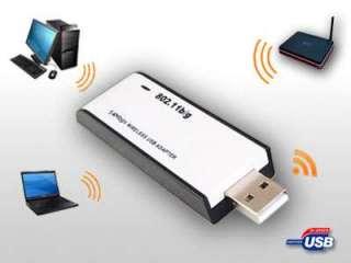Mbps Wireless USB LAN Adapter 802.11B G N for Windows Mac Linux