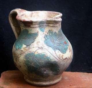 Rare and Authentic 15th century Italian Majolica jug