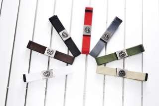 Men Classic Stylish Canvas Fashion Belt 7 Colors