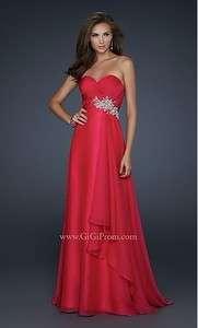 Elegant Sweetheart Neckline Chiffon Evening Prom Ball Party Gown Dress
