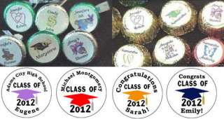 of 2012 Cap Candy Kiss kisses Labels Custom Party Favors B