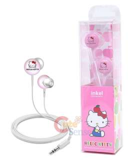 Sanrio Hello Kitty Ergonomic Designed Stereo earphones / Headphones