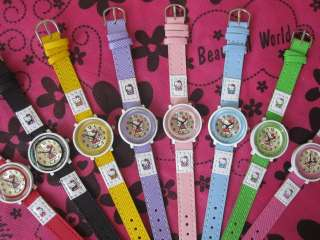WHOLESALES 10PCS HELLO KITTY CHILDREN 3D WRIST WATCH TO