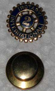 Jewelry Antique 14kt ROTARY INTERNATIONAL PIN 2
