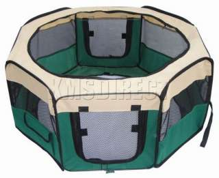 Soft Dog Puppy Crate Rabbit Hutch Pet Play Pen Cage Run