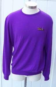 Ralph Lauren mens purple label cashmere sweater xl