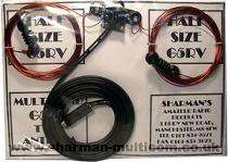 size G5RV long wire HF antenna Easy Install