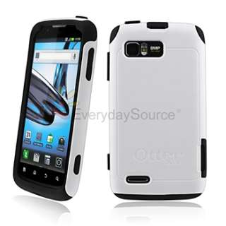 Otterbox Commuter Black White Case COVER for Motorola Atrix 2 MB865