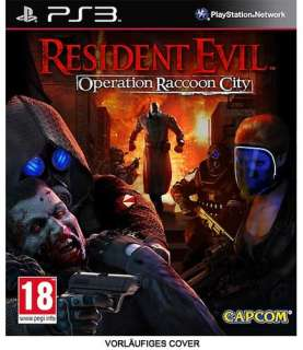 Resident Evil Operation Raccoon City   PS3   PEGI 18